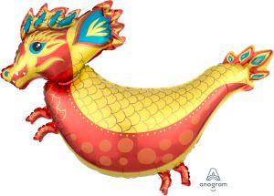 SuperShape Fiery Dragon