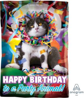 Junior Shape Avanti Happy Birthday Party Animal