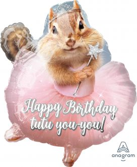 Junior Shape Avanti Ballerina Birthday Chipmunk