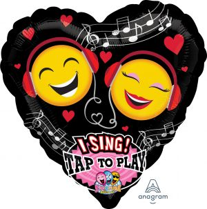 Sing-A-Tune Emoticon Love