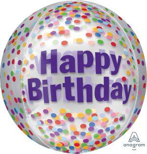 Orbz Happy Birthday Funfetti