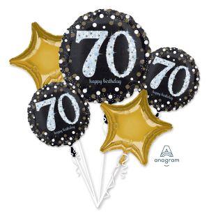 Bouquet Sparkling Birthday 70