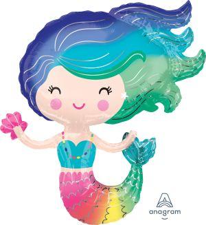 SuperShape Colorful Mermaid