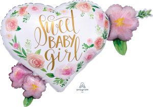 SuperShape Floral Baby Girl