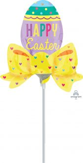 Mini Shape Easter Egg with Bow
