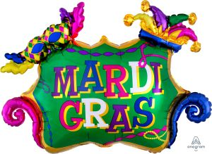 SuperShape Mardi Gras Celebration