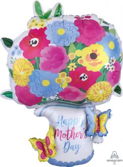 Multi-Balloon Happy Mothers Day Pitcher Garland