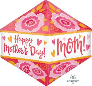 UltraShape Anglez Happy Mothers Day Graphic Flowers