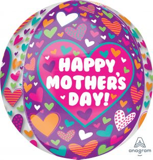 Orbz Happy Mothers Day Playful Hearts