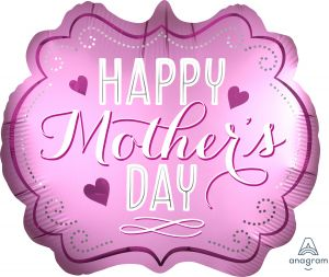 SuperShape Happy Mothers Day Satin Infused Marquee