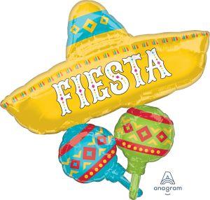 SuperShape Papel Picado Fiesta Cluster