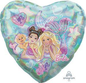 Jumbo Iridescent He Mermaid Barbie