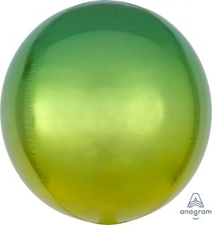 Ombre Orbz Yellow & Green Flat