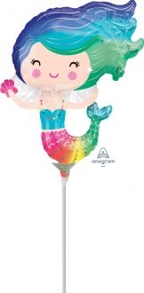 Mini Shape Happy Mermaid Rainbow
