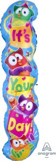 Supershape Trend Owl-Stars Happy Birthday