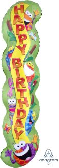 Supershape Trend Frog-tastic Happy Birthday