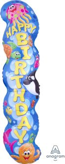 Supershape Trend Sea Buddies Happy Birthday