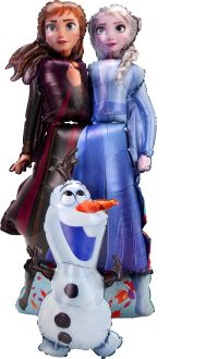 Airwalkers Frozen 2 Elsa Anna Olaf
