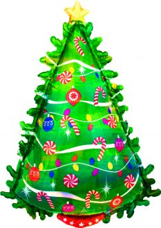 SuperShape Iridescent Green Christmas Tree