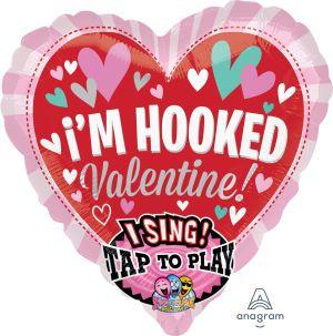 Sing-A-Tune Im Hooked Valentine