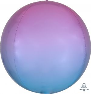 Ombre Orbz Pastel Pink & Blue