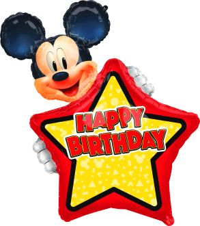 SuperShape Personalized Mickey Mouse Forever