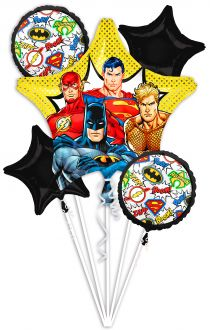 Bouquet Justice League
