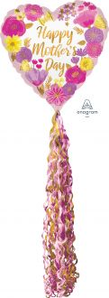 Airwalkers Pom Pom Floral Happy Mothers Day