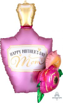 Multi-Balloon Satin Perfume Bottle Garland
