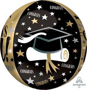 Orbz Congrats Grad Cap and Diploma