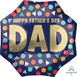 SuperShape Happy Fathers Day Dad