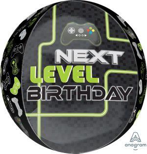 Orbz Level Up Birthday
