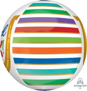 Orbz Good Luck Rainbow Stripes