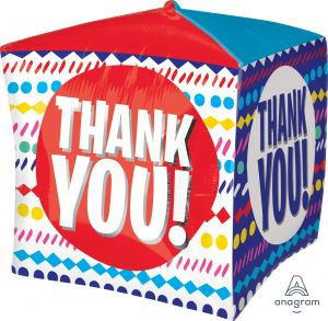 UltraShape Cubez Thank You Streamers