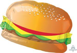 SuperShape Hamburger with Bun
