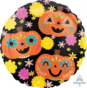 Standard Day of the Dead Pumpkins