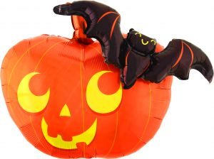 Multi-Balloon Pumpkin and Bat