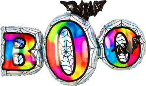 SuperShape Holographic Iridescent Boo