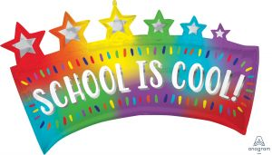 SuperShape Ombre School Banner