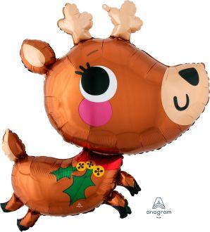 SuperShape Adorable Reindeer