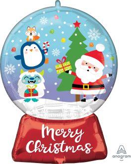 SuperShape Christmas Snow Globe