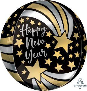 Orbz Happy New Year Shooting Stars