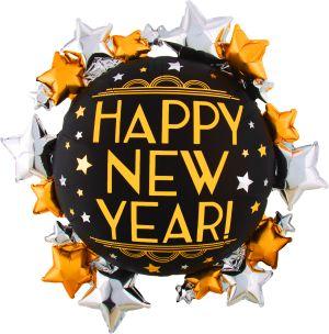 SuperShape Satin New Year
