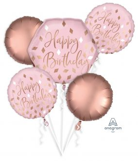 Bouquet Blush Birthday