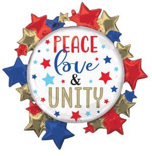 SuperShape Peace Love Unity Stars