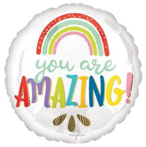 Standard You are Amazing Rainbow