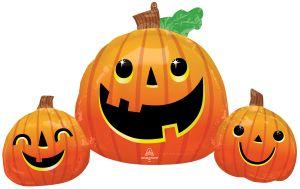 SuperShape Smiley Pumpkin Trio