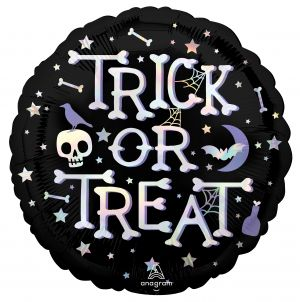 Standard Holographic Iridscent Trick or Treat