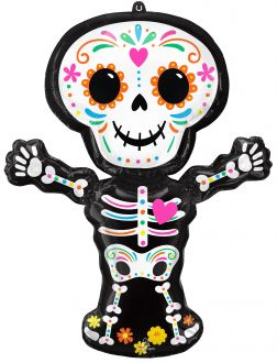 SuperShape Day of the Dead Skeleton