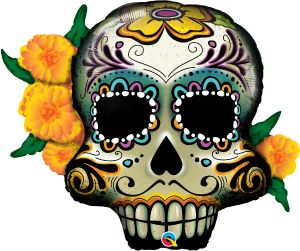 SuperShape Day of the Dead Skull